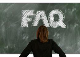 Symbolbild FAQ Häufige Fragen